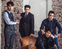 [포토] 킹과 킹메이커들, 정우성·조인성·류준열·배성우