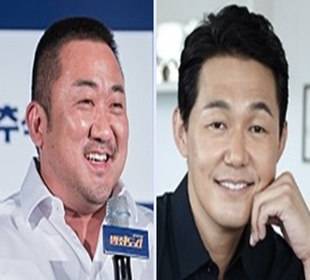 마동석·박성웅 하반기 극장가 접수…'묵직한 존재감'